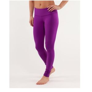lululemon wunder under high waisted leggings